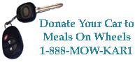 Donate Your Car to Meals On Wheels